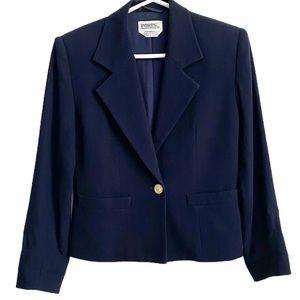 PORTS 1961 Single Button 100% Wool Blazer